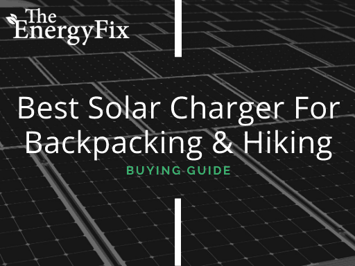 Best Solar Charger For Backpacking and Hiking banner