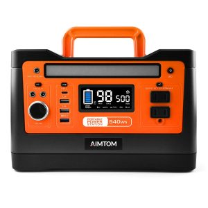 Aimtom 540wh Portable Power Station