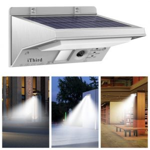 Ithird Led Solar Powered Security Lights