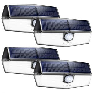 Litom 120 Led Solar Motion Lights