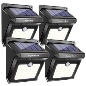 Luposwiten Solar Motion Sensor Lights
