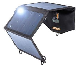 Ryno-Tuff Portable Solar Charger for Camping - 21W