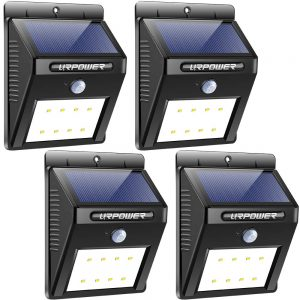 Urpower Solar Powered Motion Security Lights