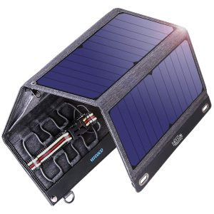 Vitcoco 29W Solar Panel with Dual USB Ports