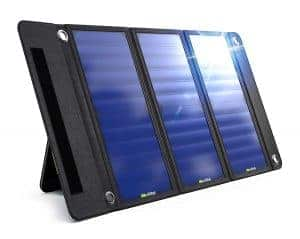 Wildtek Source 21W Waterproof Portable Solar Charger Panel