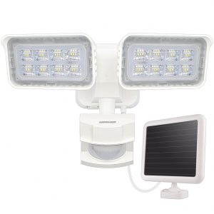LEPOWER 1500LM Solar Lights Outdoor Review