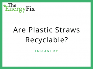 are plastic straws recyclable?
