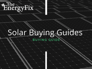 Solar Buying Guides